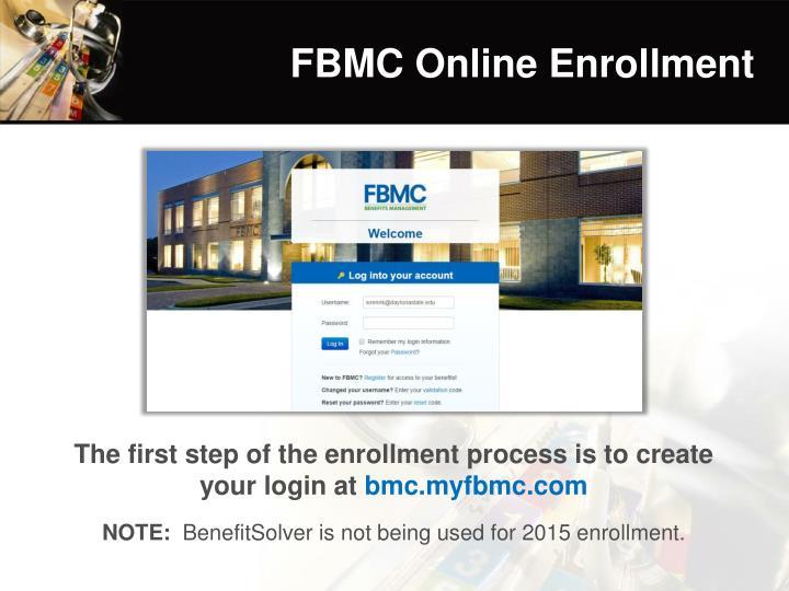 FBMC Online Enrollment