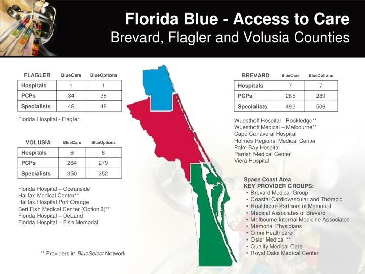 Florida Blue - Access to Care