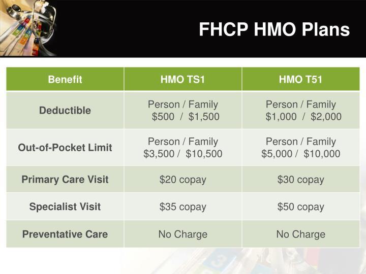 FHCP HMO Plans