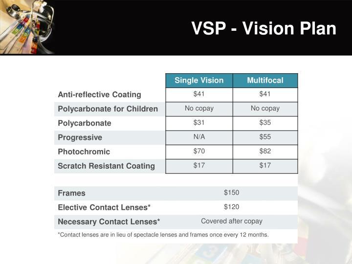 VSP - Vision Plan
