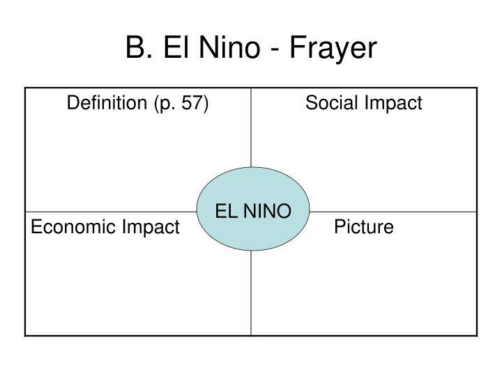 B. El Nino - Frayer