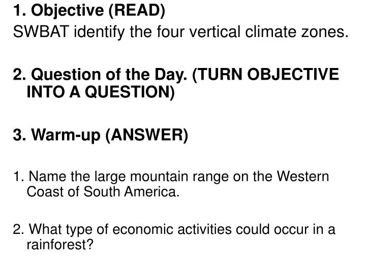 1. Objective (READ)