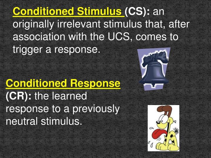 Conditioned Stimulus