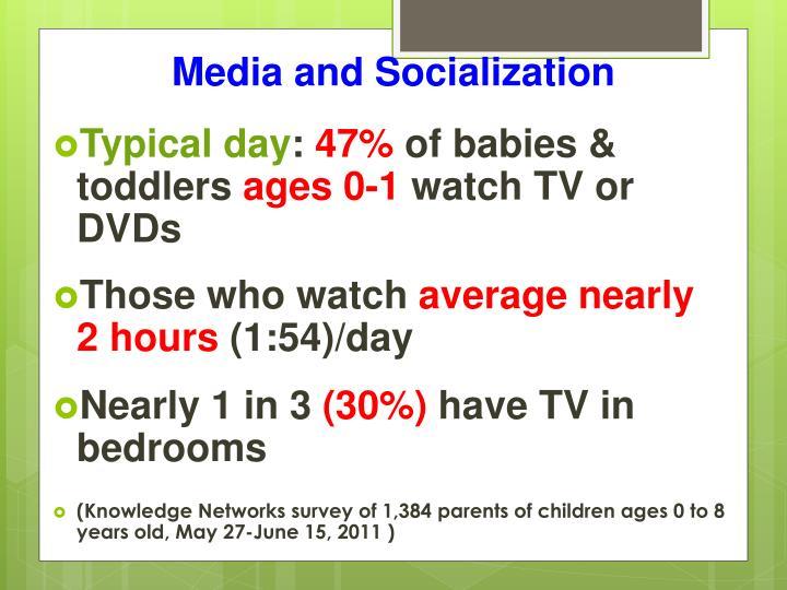 Media and Socialization