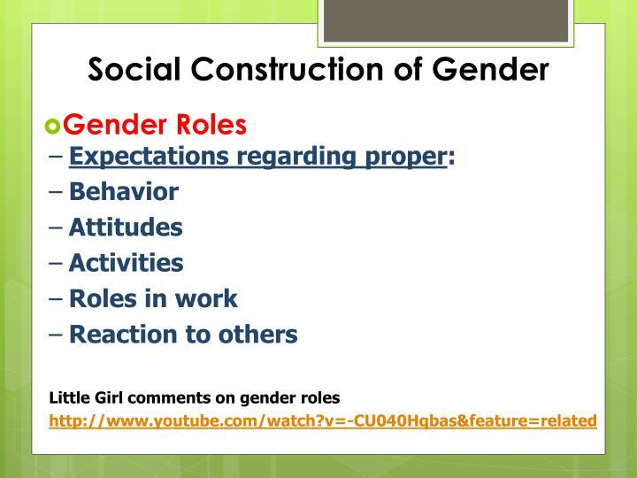 Social Construction of