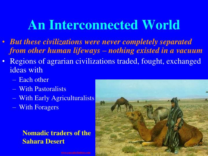 An Interconnected World