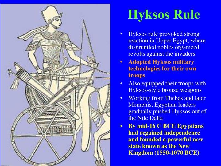 Hyksos Rule
