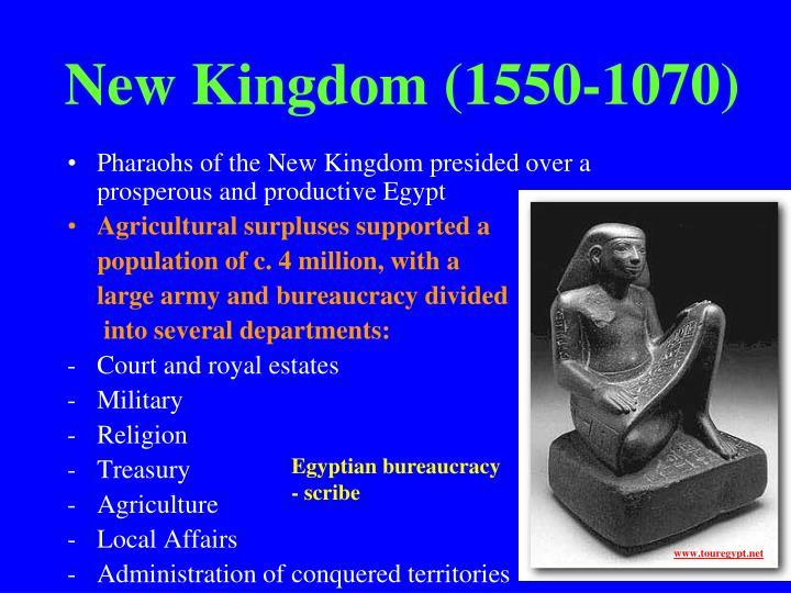 New Kingdom (1550-1070)