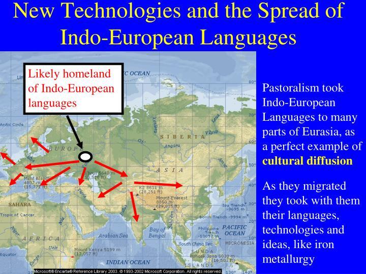 Likely homeland of Indo-European languages