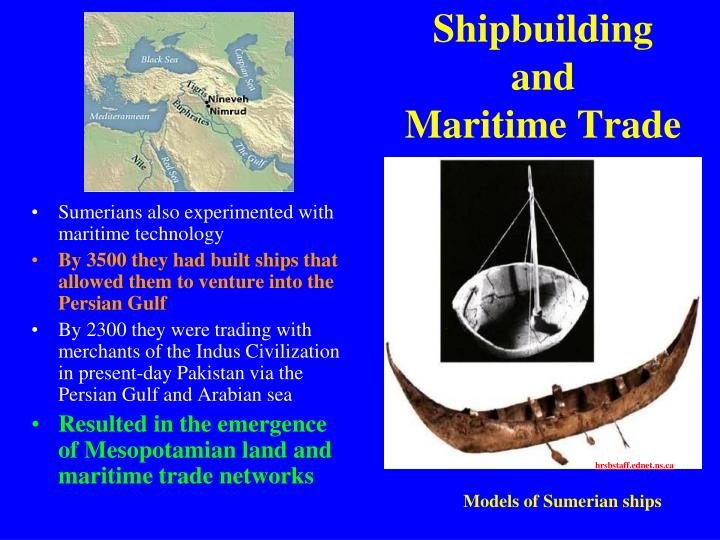 Shipbuilding and
