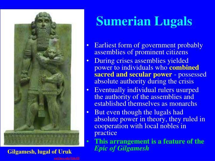 Sumerian Lugals