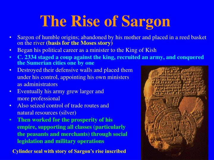 The Rise of Sargon