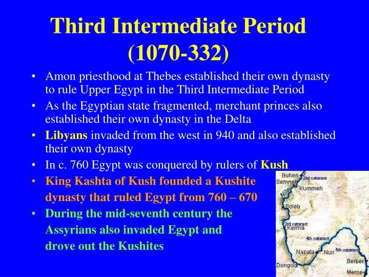 Third Intermediate Period (1070-332)