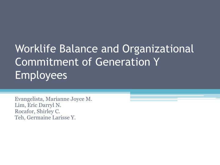 employees organizational commitment Employee organizational commitment development at voluntary organizations in lithuania article (pdf available) january 2015 with 117 reads.
