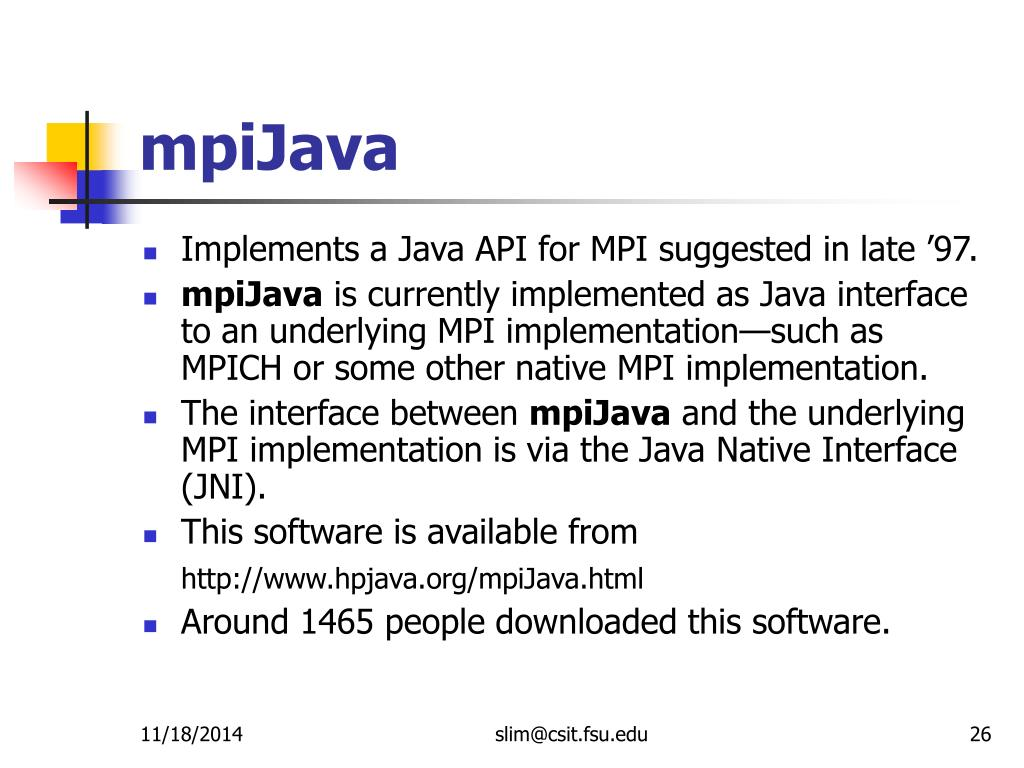 PPT - Platforms for HPJava: Runtime Support for Scalable