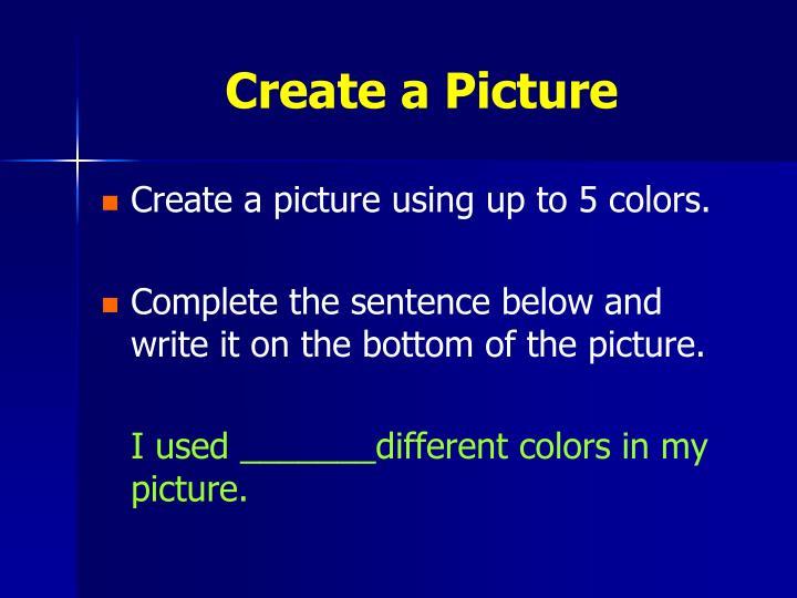 Create a Picture