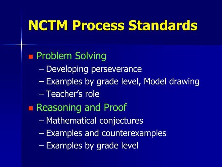 NCTM Process Standards