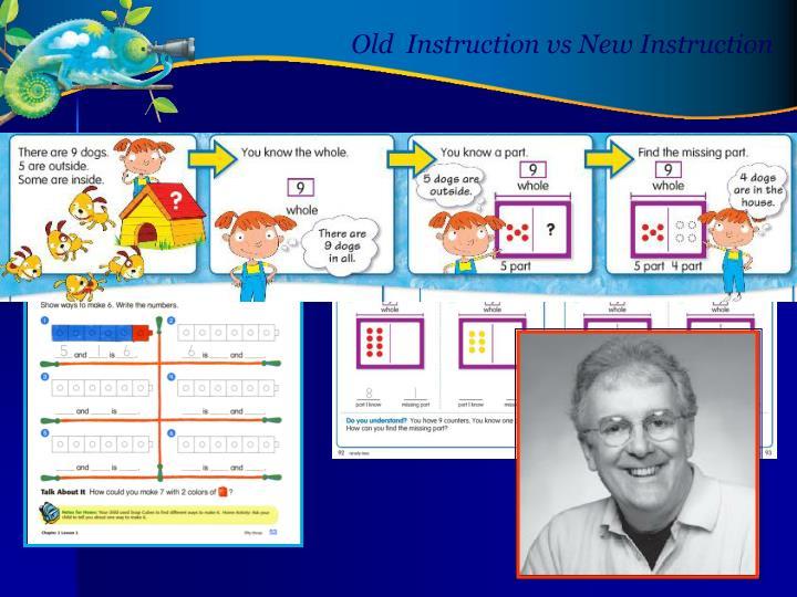 Old  Instruction vs New Instruction