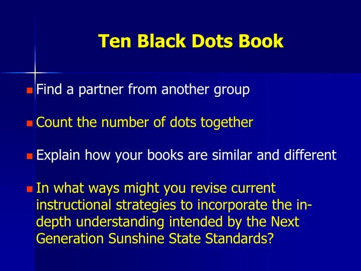 Ten Black Dots Book