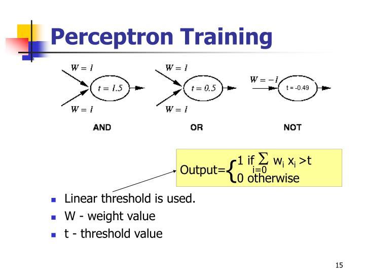 Perceptron Training