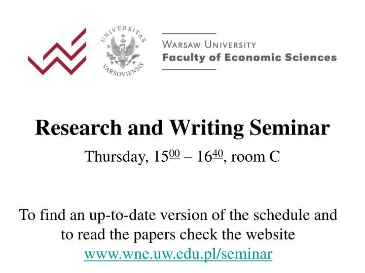 research and writing seminar thursday 15 00 16 4 0 room c n.