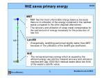 wte saves primary energy