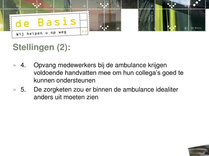 Stellingen (2):
