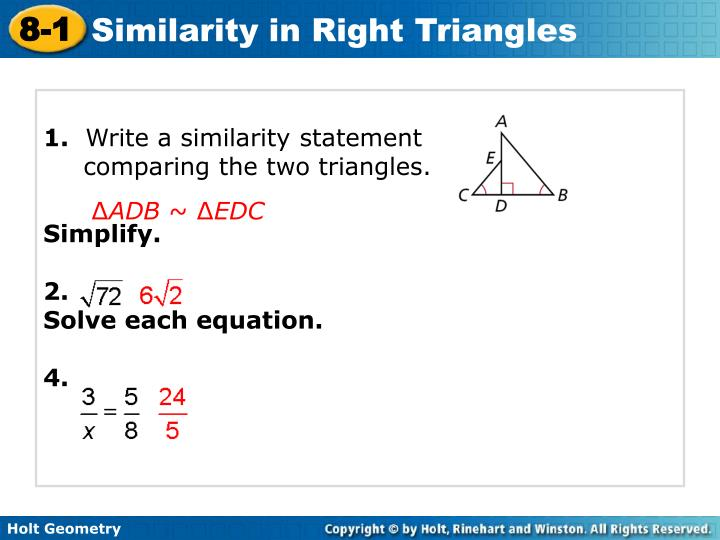 PPT 1 Write A Similarity Statement Comparing The Two
