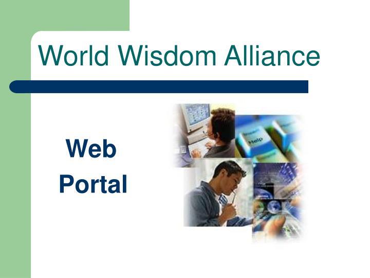 World Wisdom Alliance