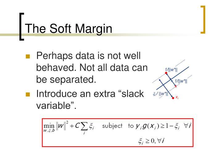 The Soft Margin
