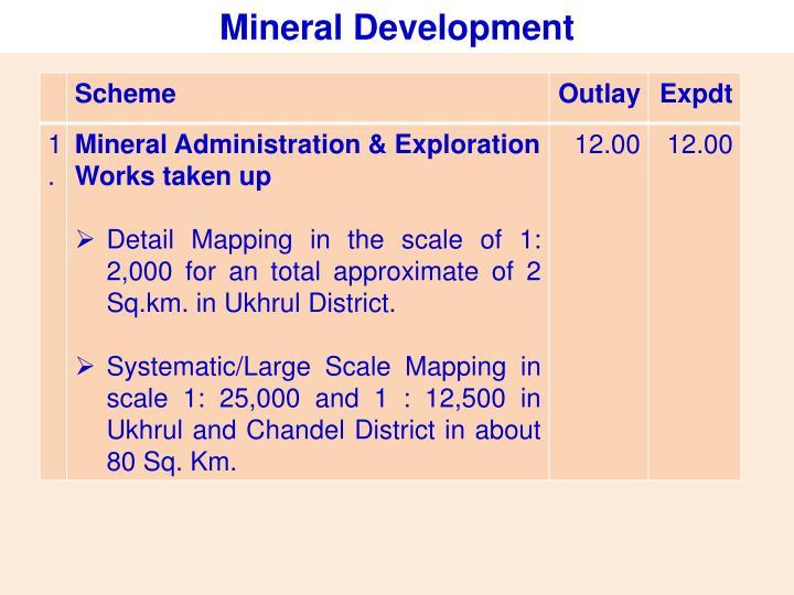 Mineral Development
