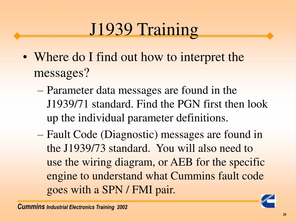PPT - J1939 Training PowerPoint Presentation - ID:6780851