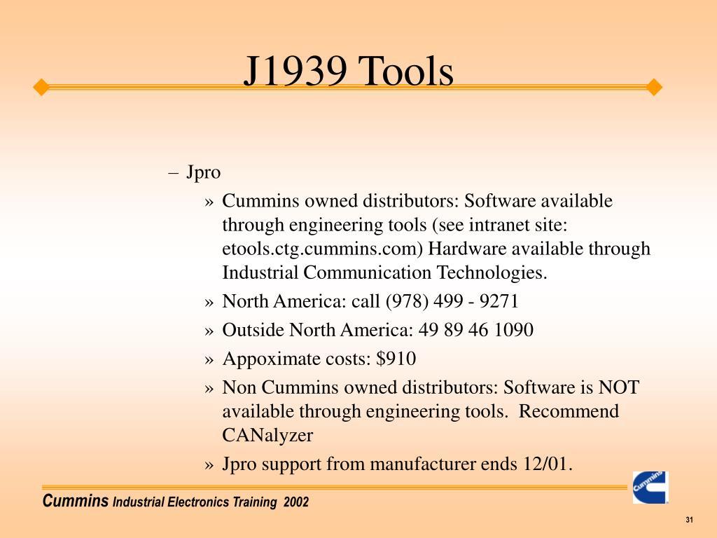 PPT - J1939 Training PowerPoint Presentation - ID:6780851
