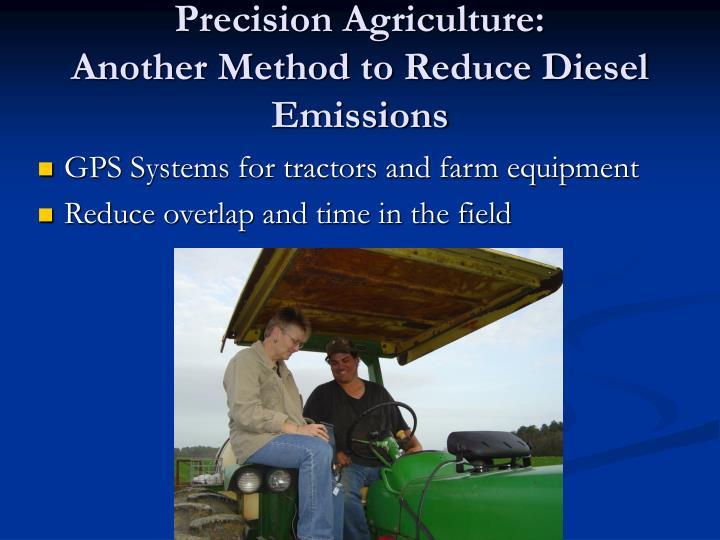 Precision Agriculture: