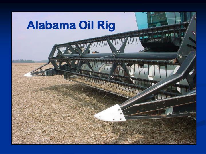 Alabama Oil Rig
