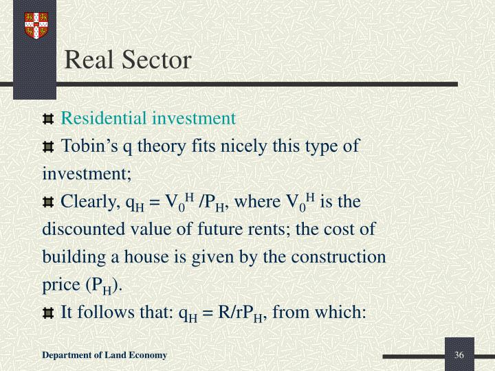 Real Sector