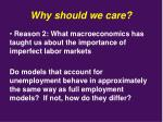 why should we care1