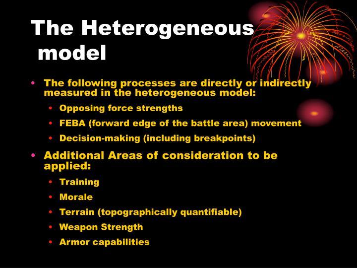 The Heterogeneous