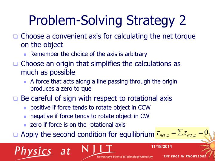 Problem-Solving Strategy 2