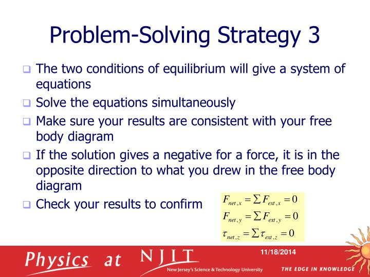 Problem-Solving Strategy 3