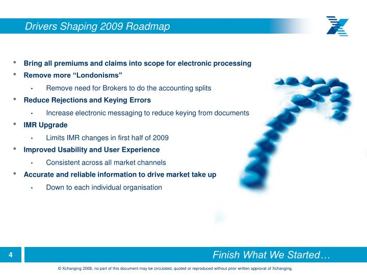 Drivers Shaping 2009 Roadmap