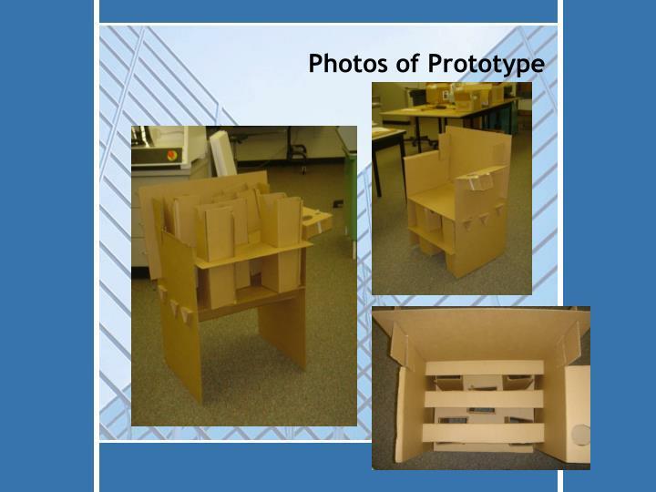 Photos of Prototype