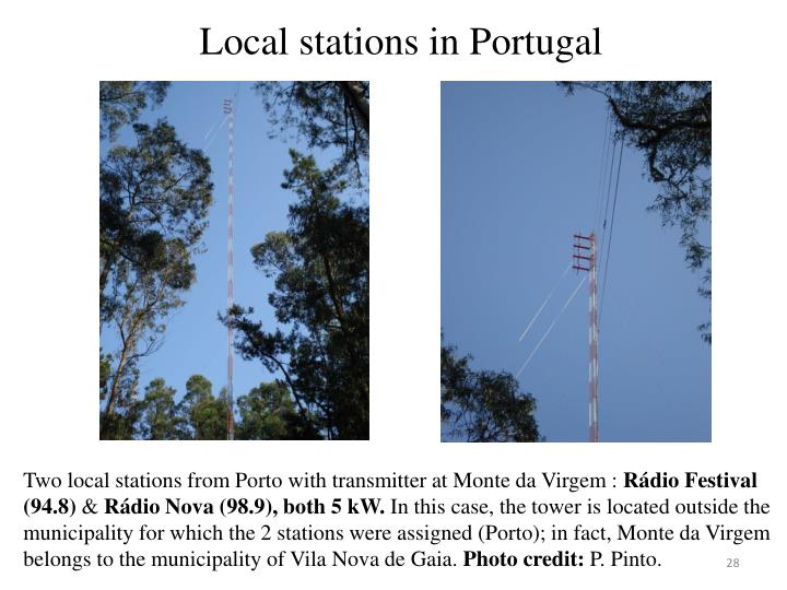 Local stations in