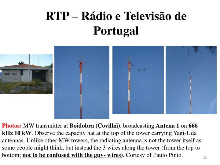 RTP – Rádio e Televisão de Portugal