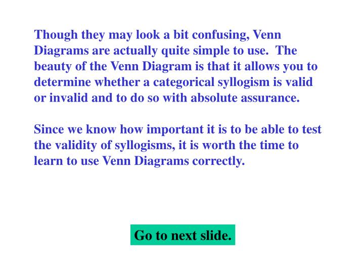 Ppt Testing Validity With Venn Diagrams Powerpoint Presentation