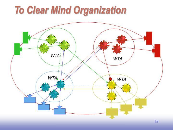 To Clear Mind Organization