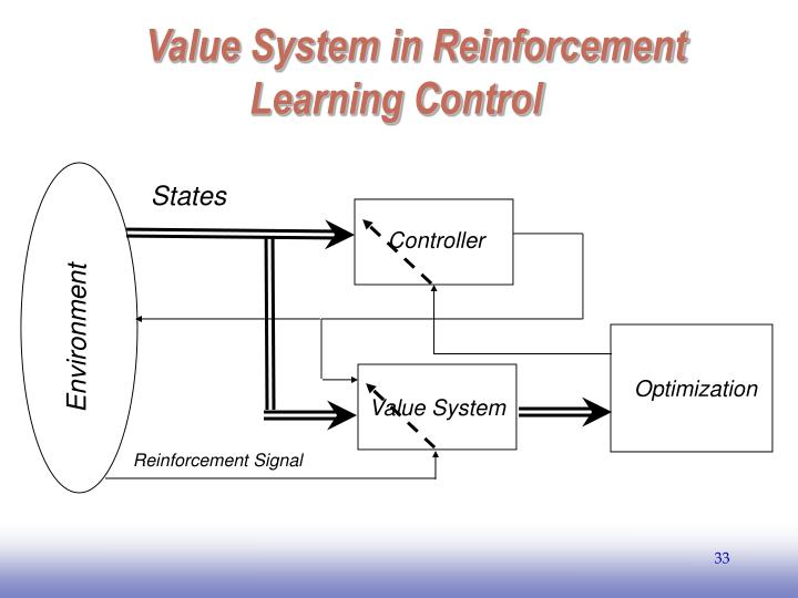 Value System in Reinforcement Learning Control
