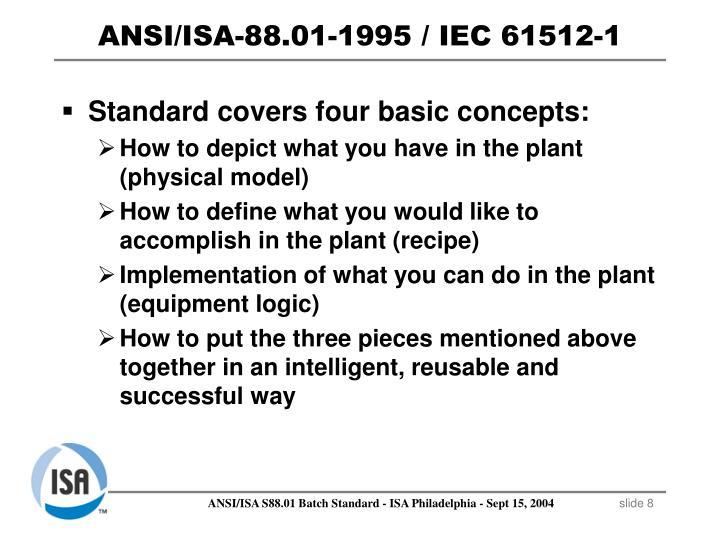 ANSI/ISA-88.01-1995