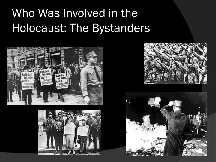 bystanders during the holocaust