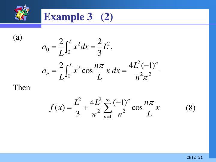 Example 3   (2)